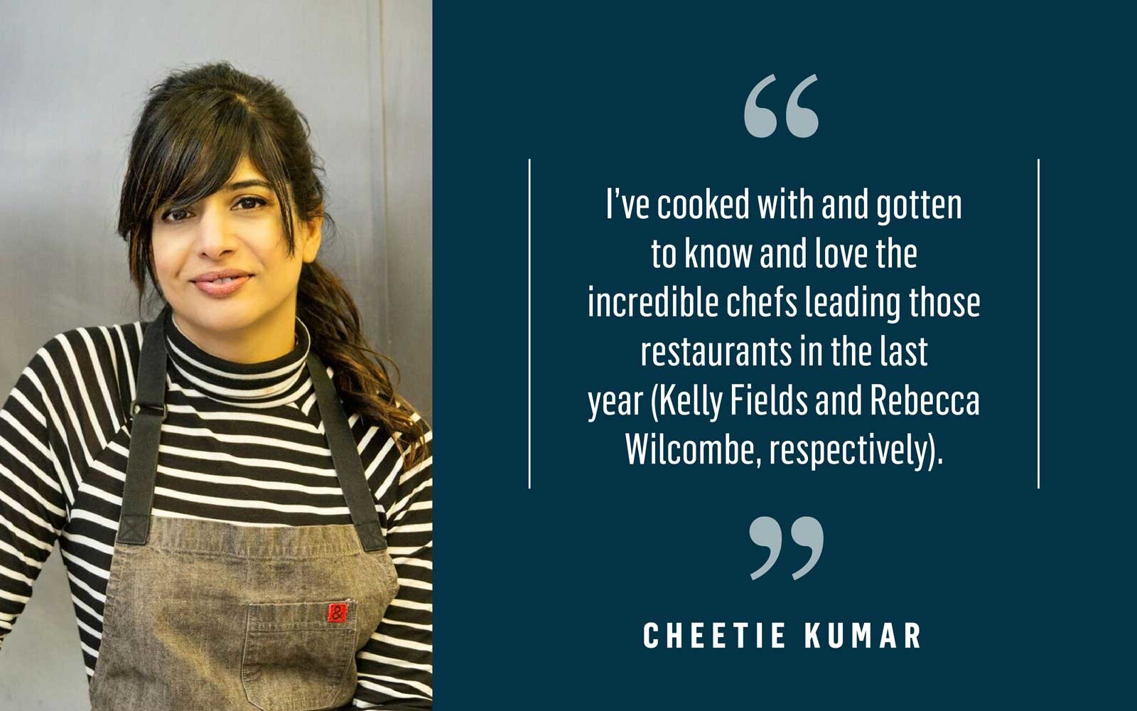 Chef Cheetie Kumar