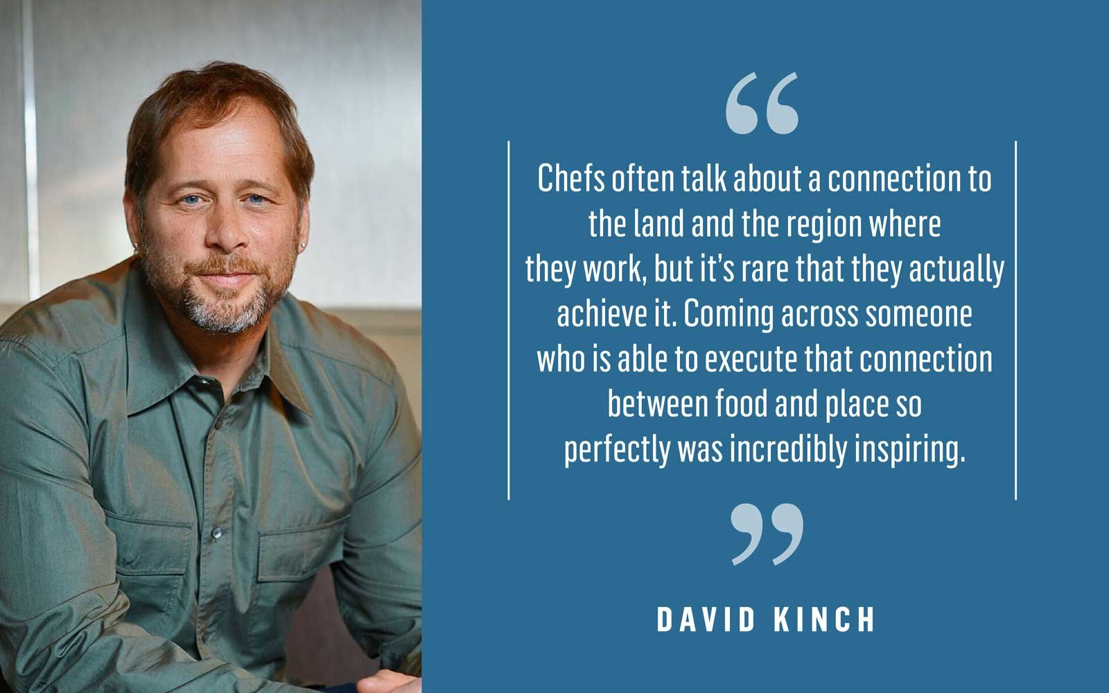 Chef David Kinch