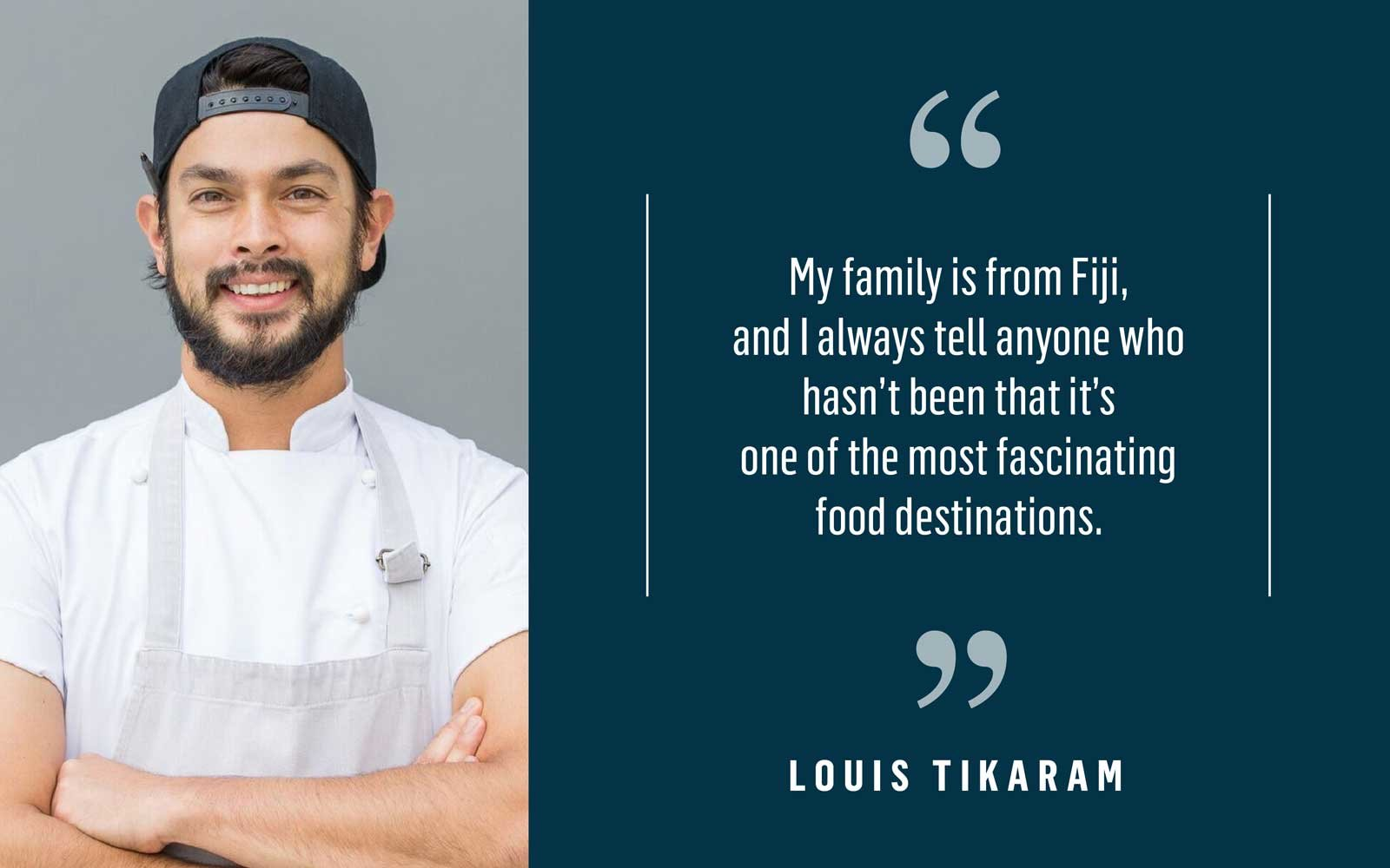 Chef Louis Tikaram