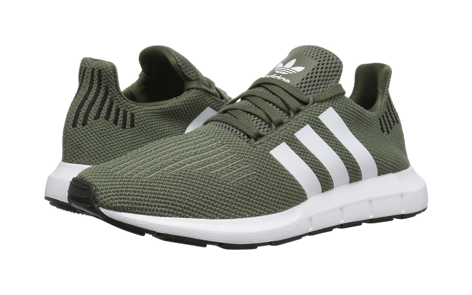 344c140dc210 Adidas Originals Swift Run W in Base Green White Black. Best Sneakers on  Sale at Zappos