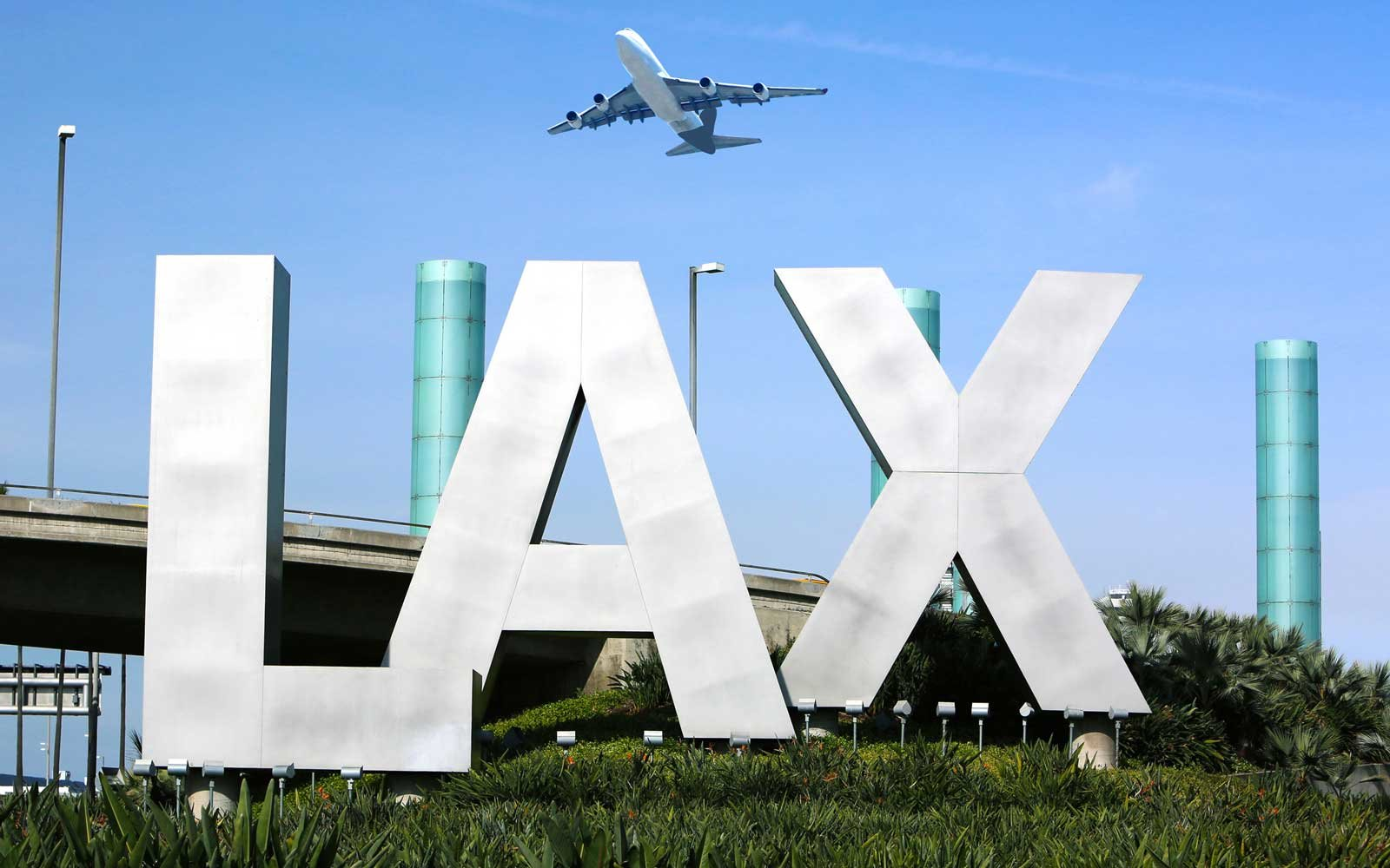 You can fly out of LAX with marijuana...kind of