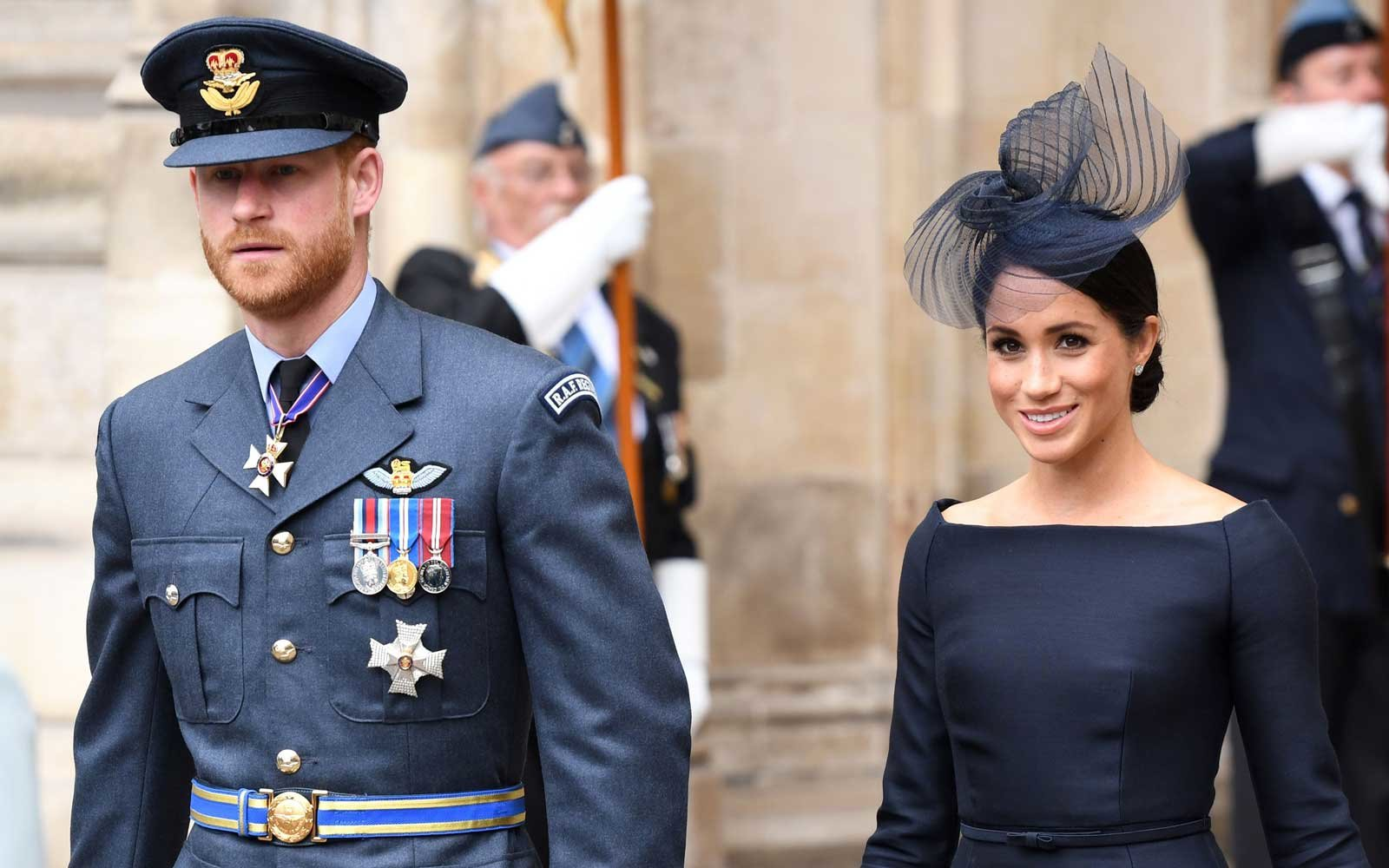 Prince Harry and Duchess of Sussex