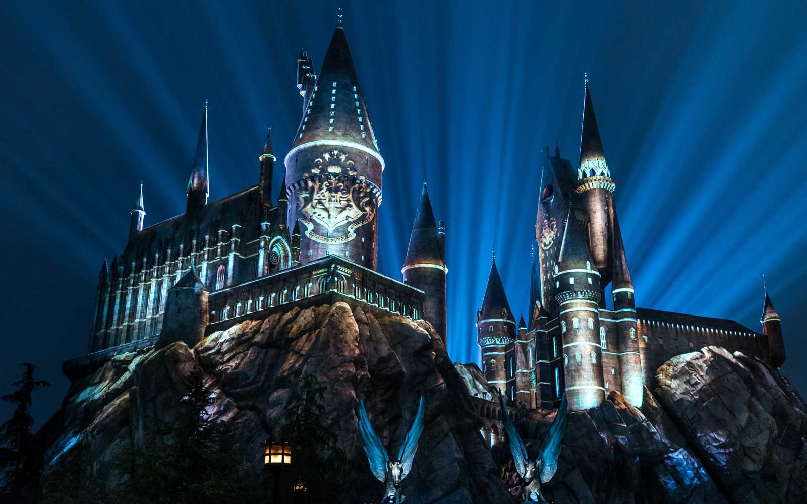 Hogwarts Castle at Wizarding World of Harry Potter in Orlando