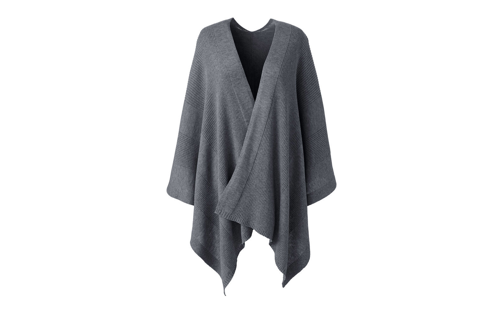 The Best Travel Wraps Ponchos And Scarves Leisure Silk Mohair Shawlette Allfreecrochetcom Lands End Knit Shawl Wrap