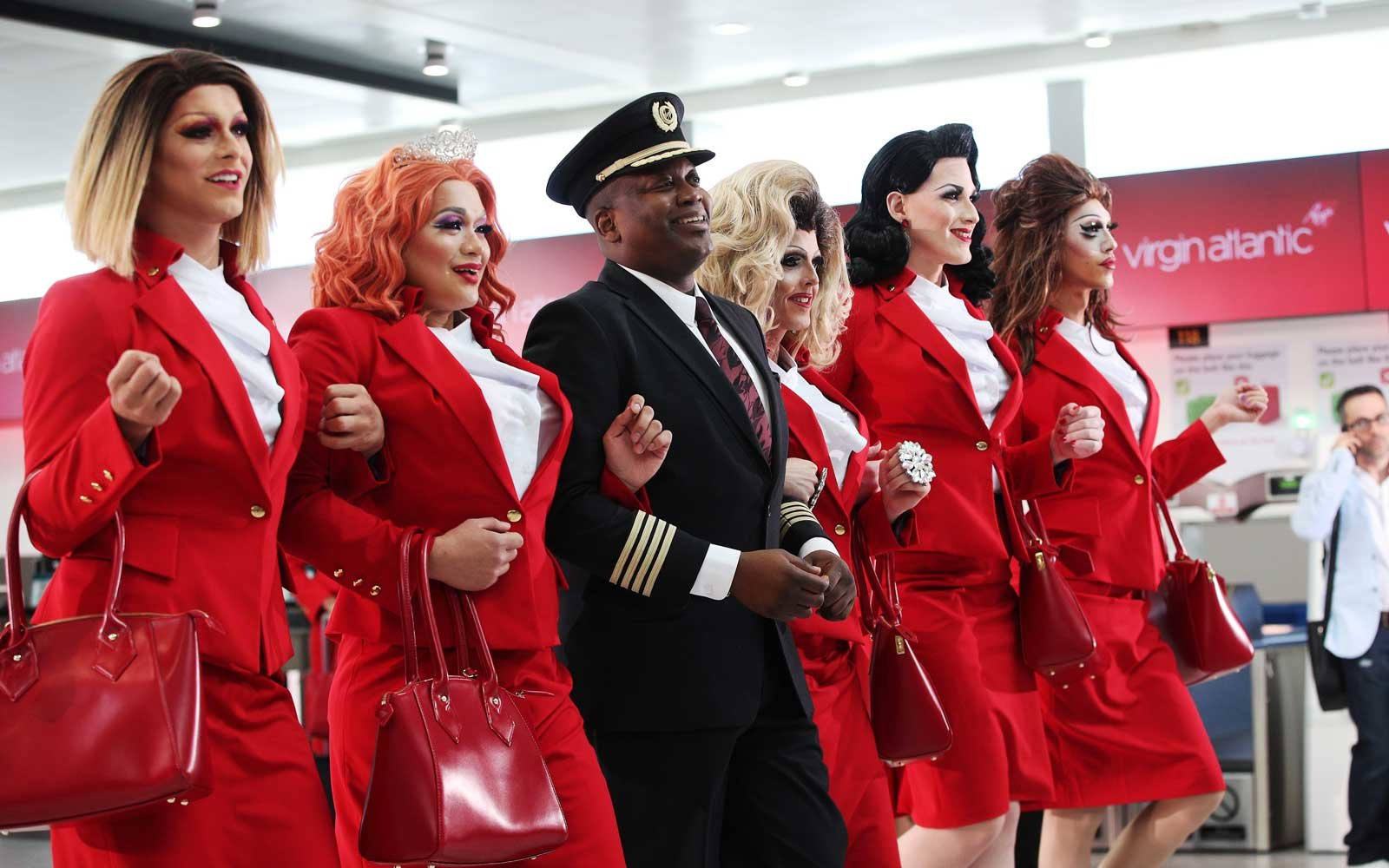 Virgin Atlantic Pride Flight
