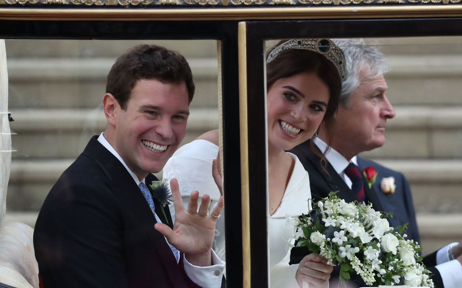 Princess Eugenie and James
