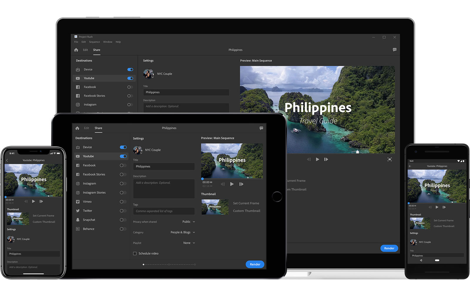 Adobe Releases 'All-in-one' Video Editing App Premiere ...