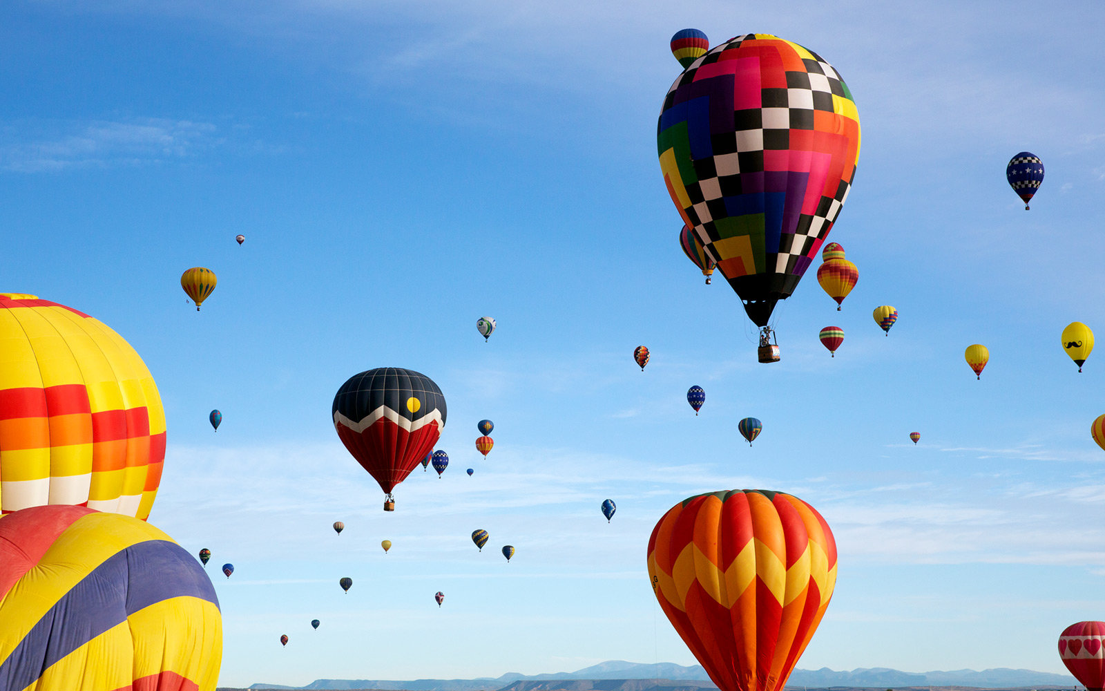 Mass Ascension at the Albuquerque International Balloon Fiesta