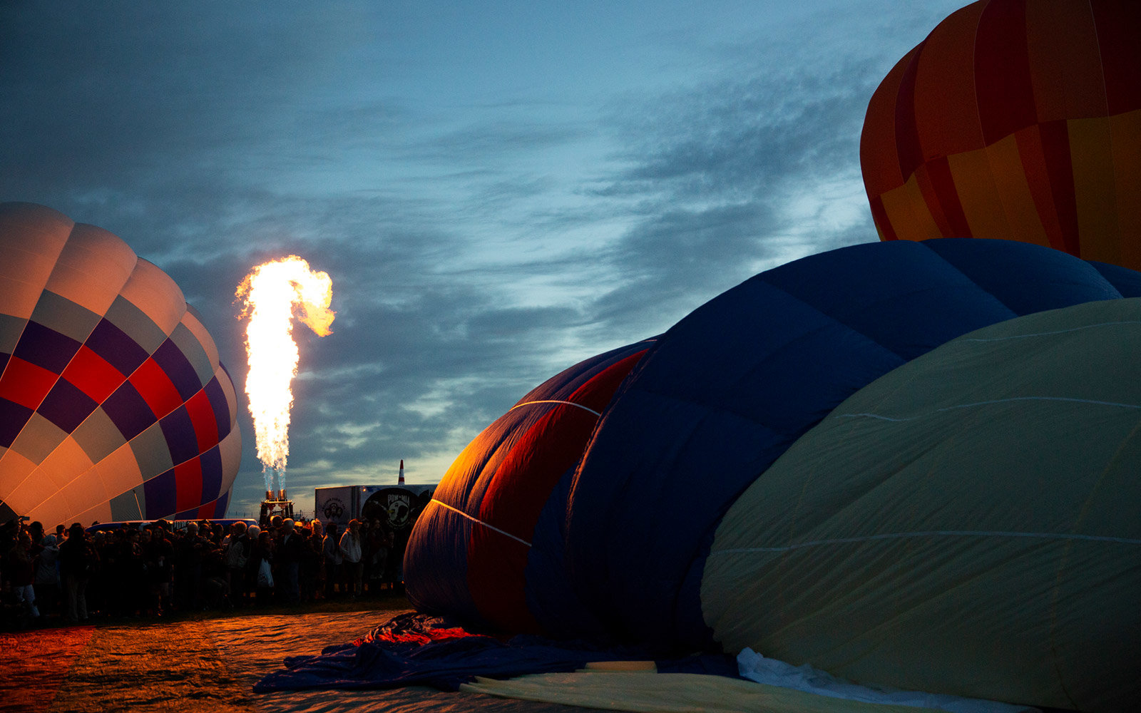 Dawn Patrol at the Albuquerque International Balloon Fiesta