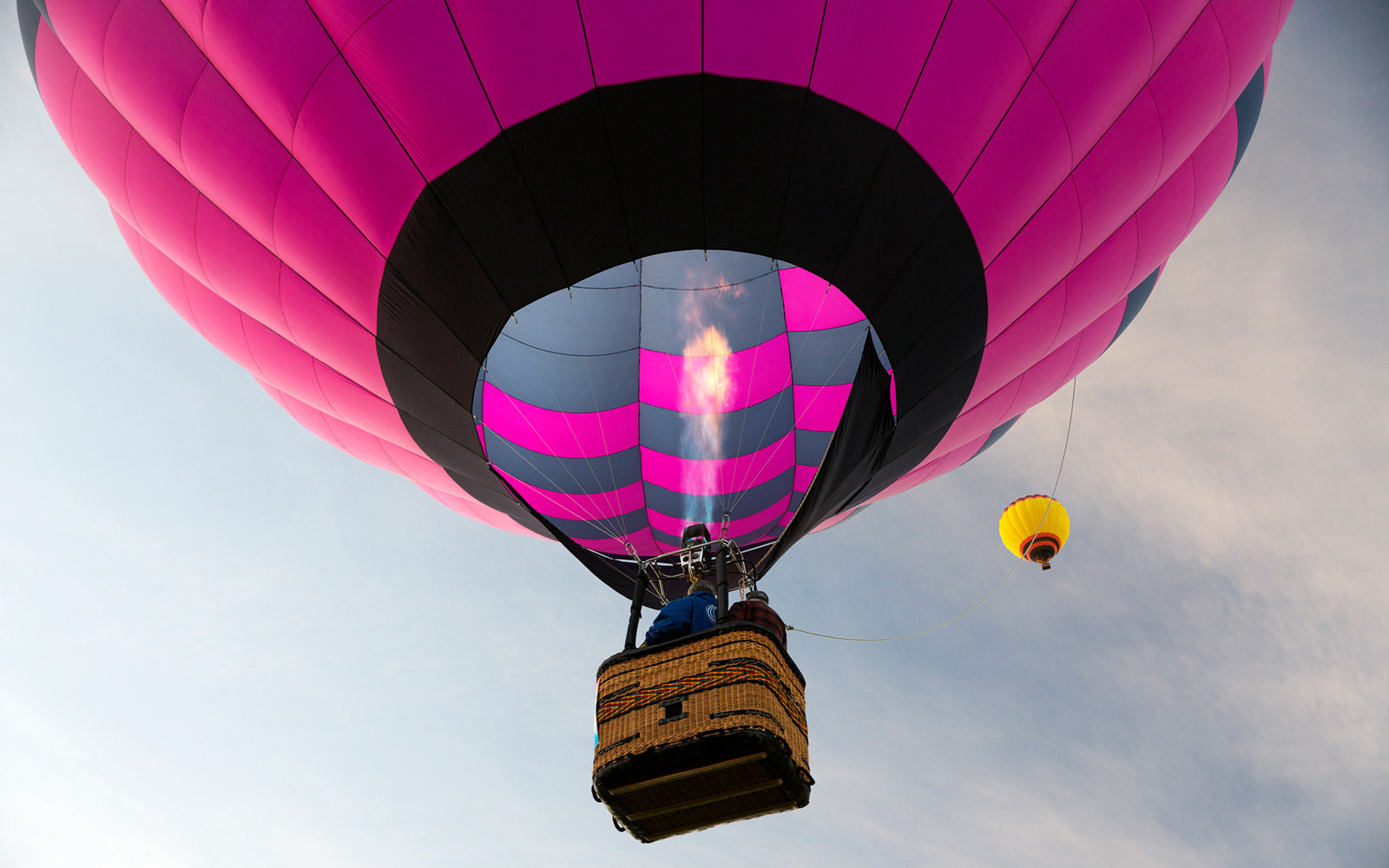 Taking flight at the Albuquerque International Balloon Fiesta