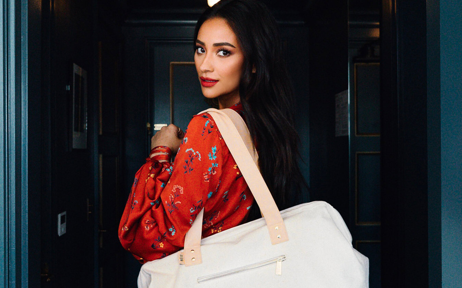 Shay Mitchell BÉIS Travel Brand Launch