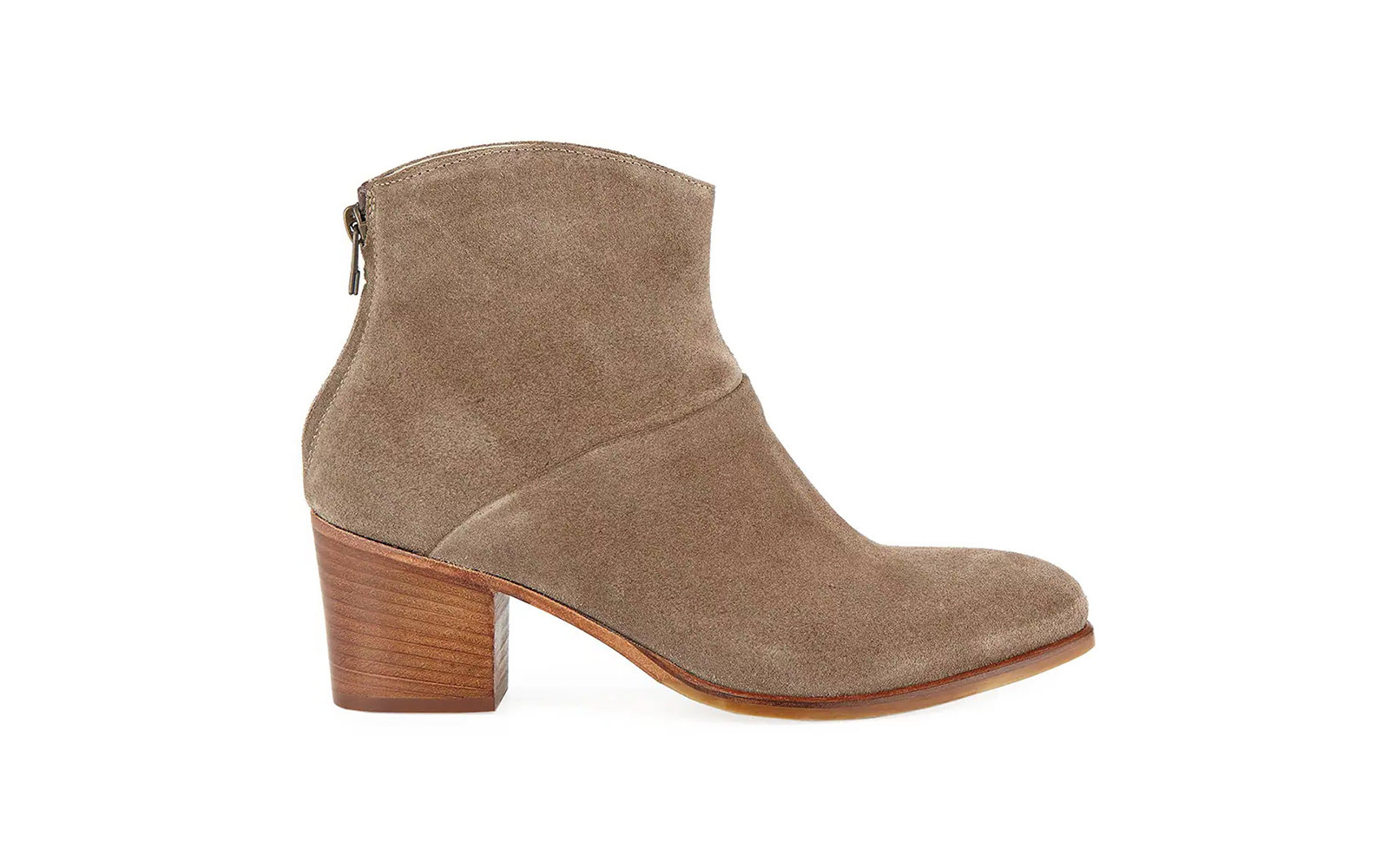 04b739b8f2 Best Ankle Boots: Italeau Daniela Waterproof Suede Ankle Booties