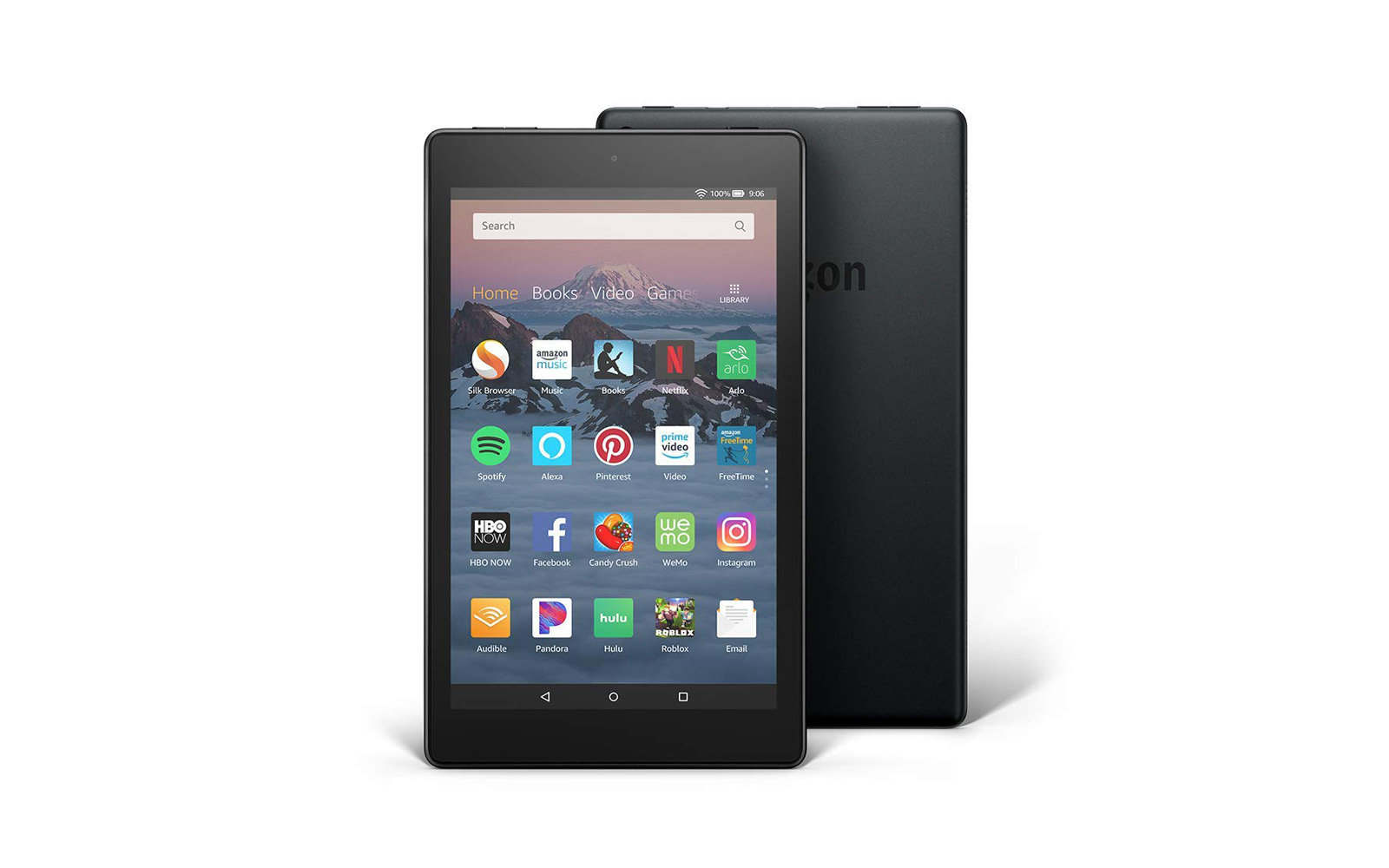 amazon fire hd 8 tablet travel gift