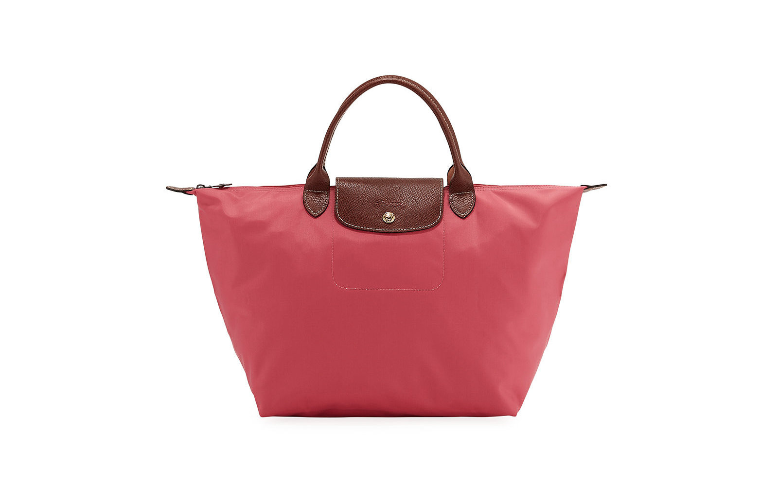 Longchamp Le Pliage Medium Nylon Handbag In Flowersf19