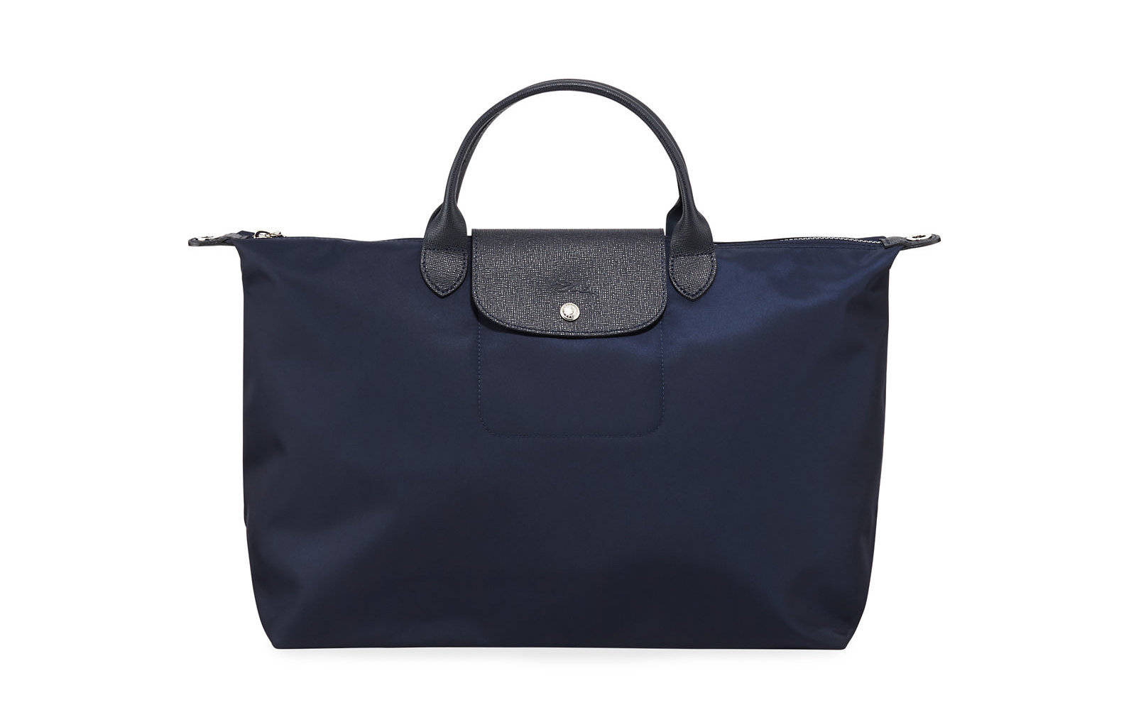 2275fae019 Longchamp Le Pliage Neo Large Nylon Tote Bag in Dark Blue. Longchamp Bags  on Sale. Courtesy of Neiman Marcus Last Call
