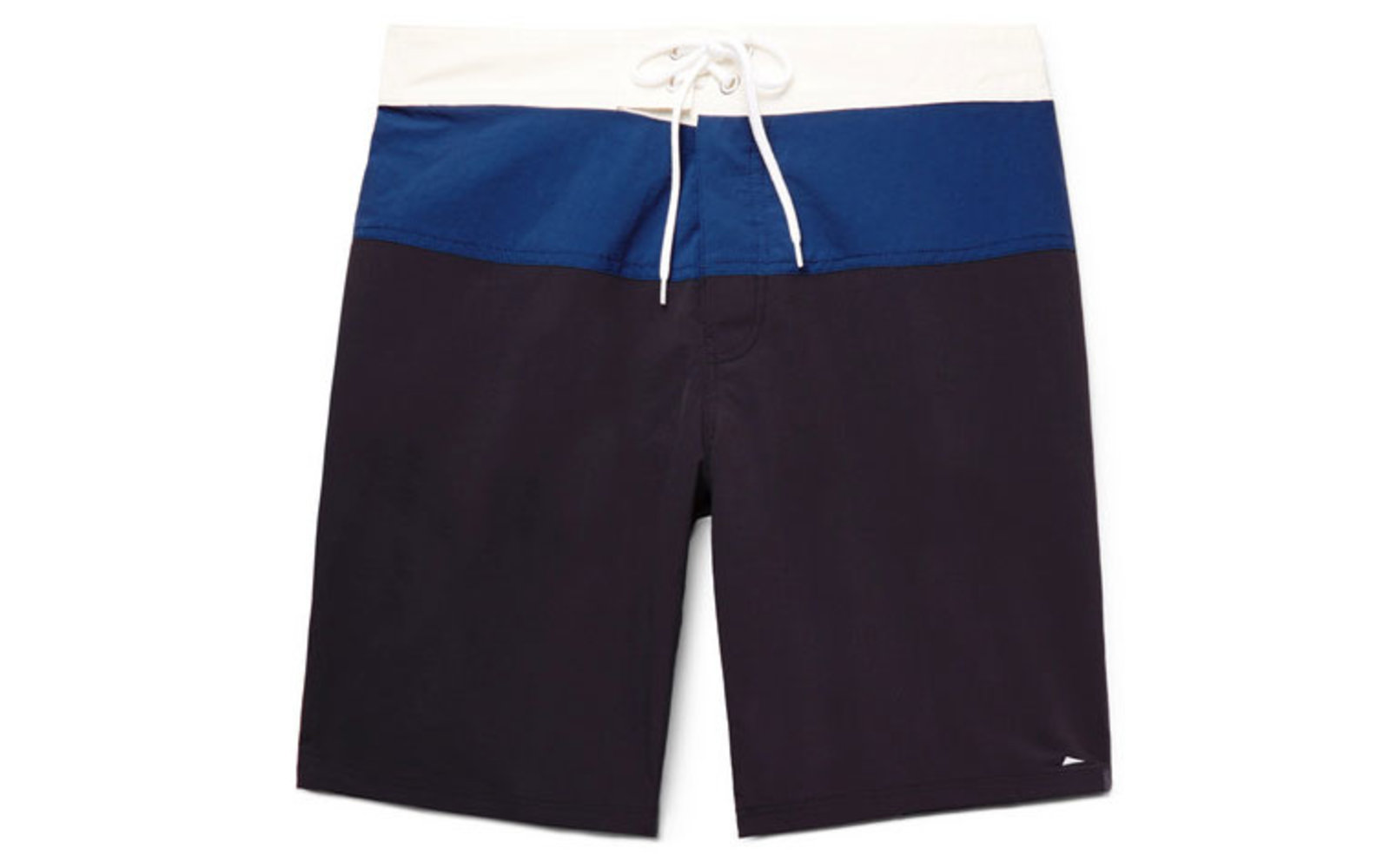 Ballard Long-length Colour-block Swim Shorts