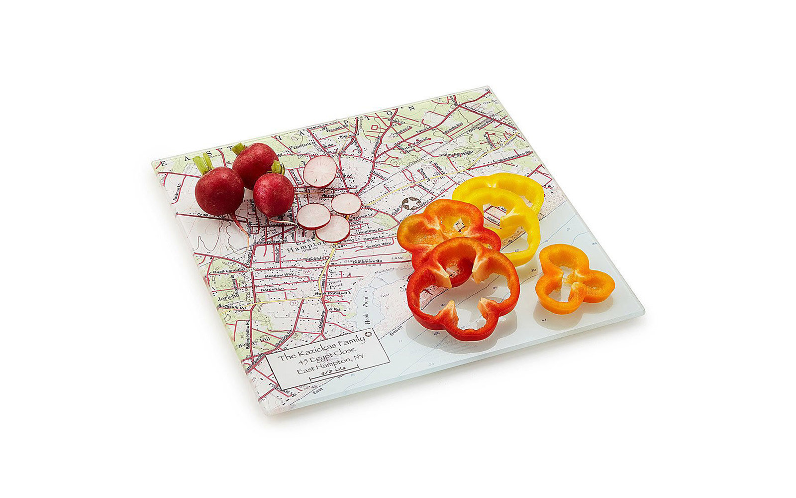 cutting board map