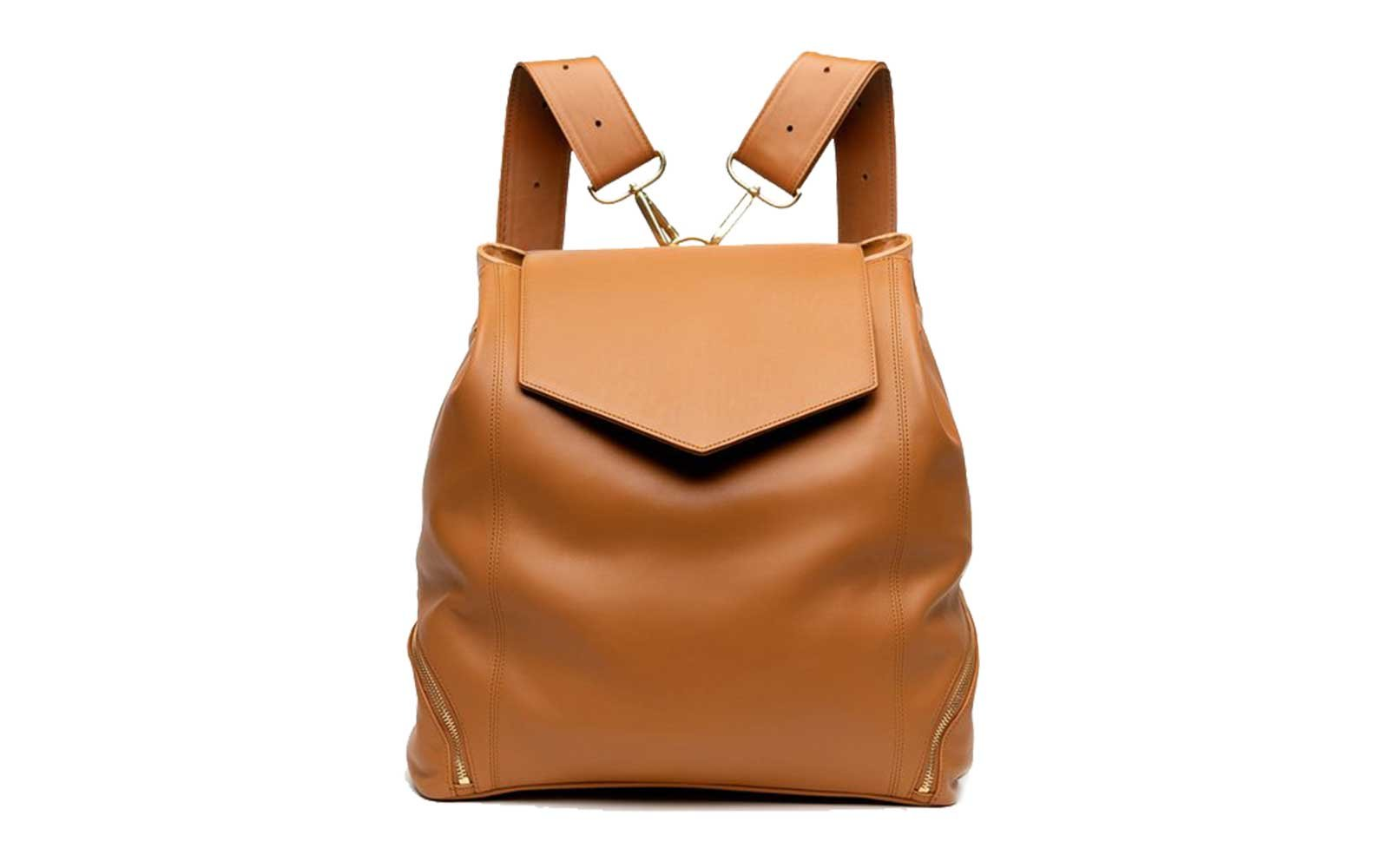 Leather convertible backpack purse from Holly and Tanager