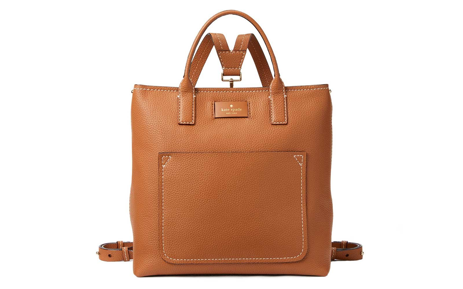 24a0a23c90 Kate Spade New York Maple Street Kenzie Leather Convertible Packpack