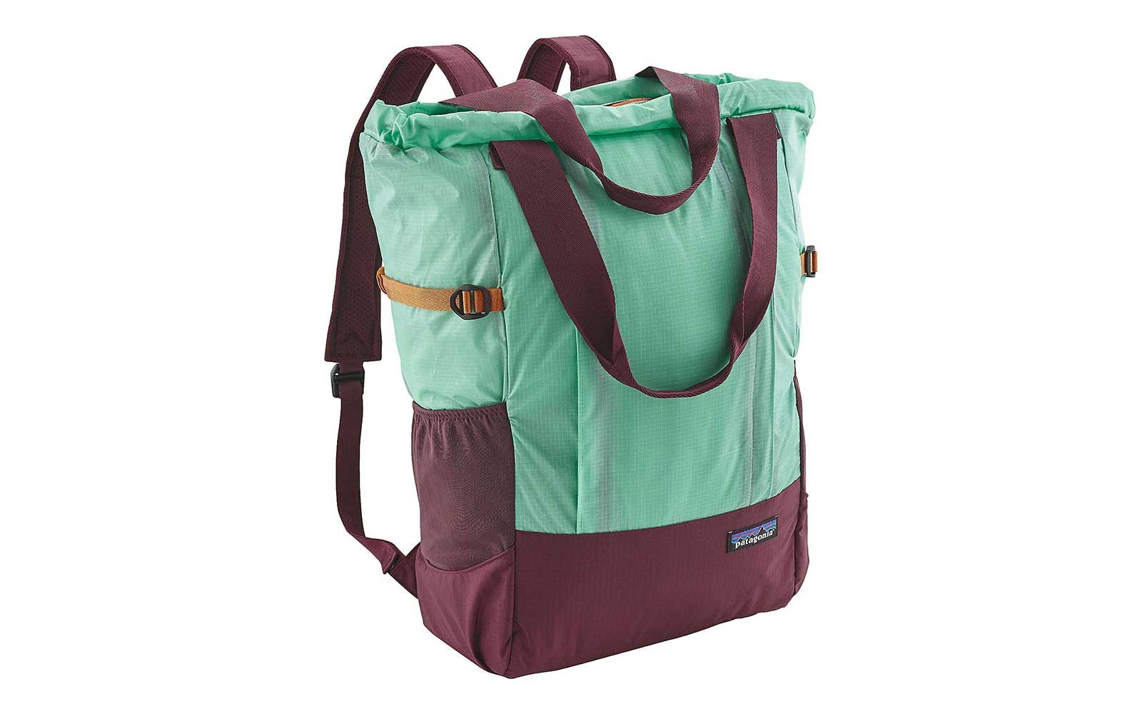 Patagonia Lightweight Travel Tote Bag in Big Sur Blue