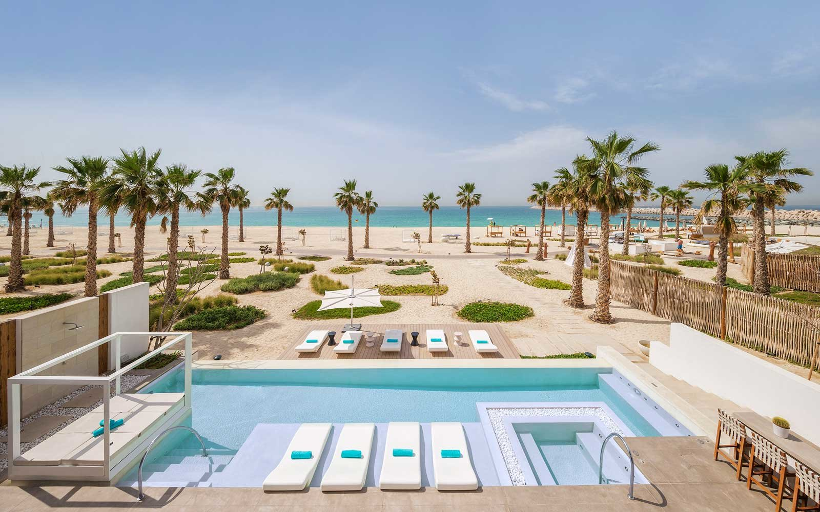 Ultimate Beach Villa at the Nikki Beach Dubai resort