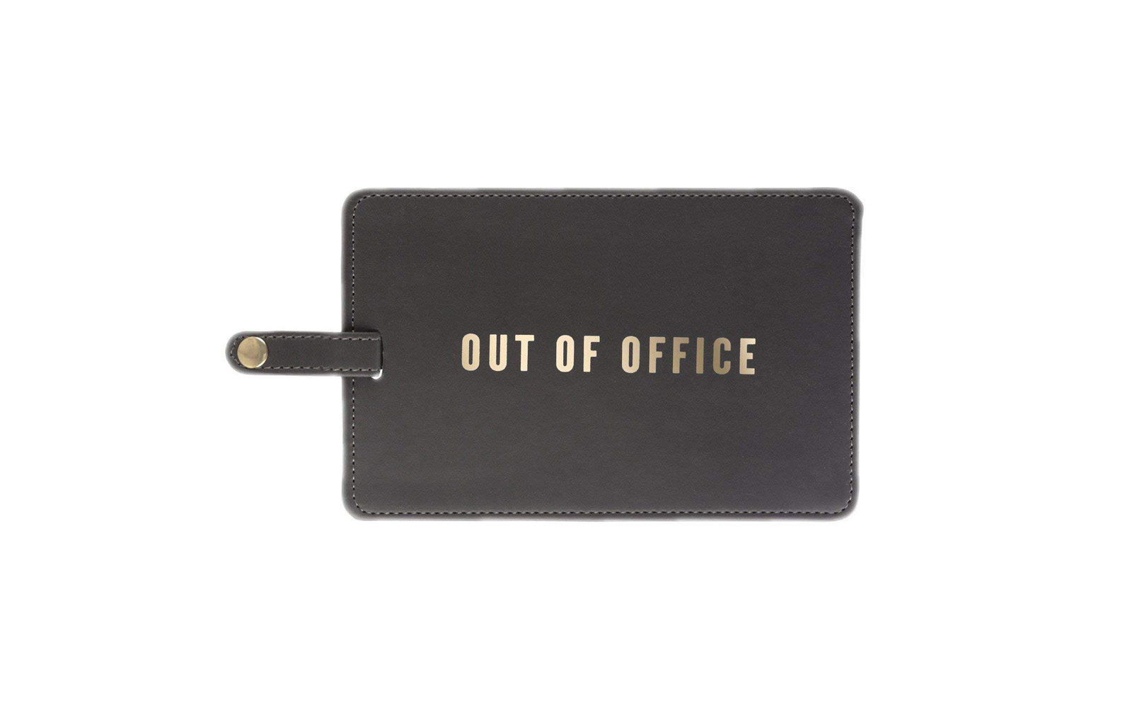 amazon out of office luggage tag