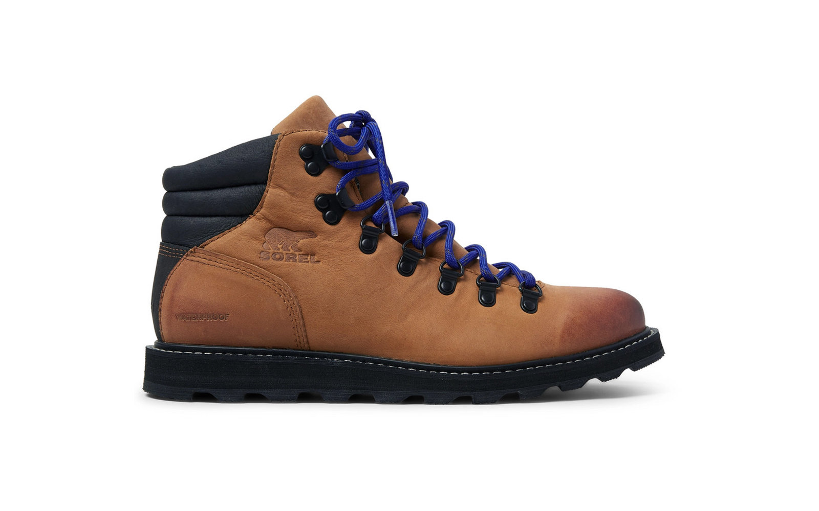 Best Hiking Boots  Sorel Madson Hiker Waterproof Leather And Rubber-Trimmed  Nubuck Boots a40b0050ba02