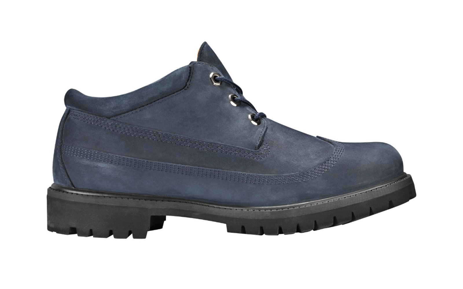 Best Ankle Boots: Timberland x Engineered Garments Waterproof Oxford in Navy