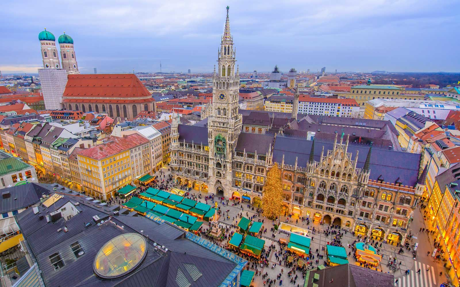 Explore some of Europe's most famous holiday markets in one trip.