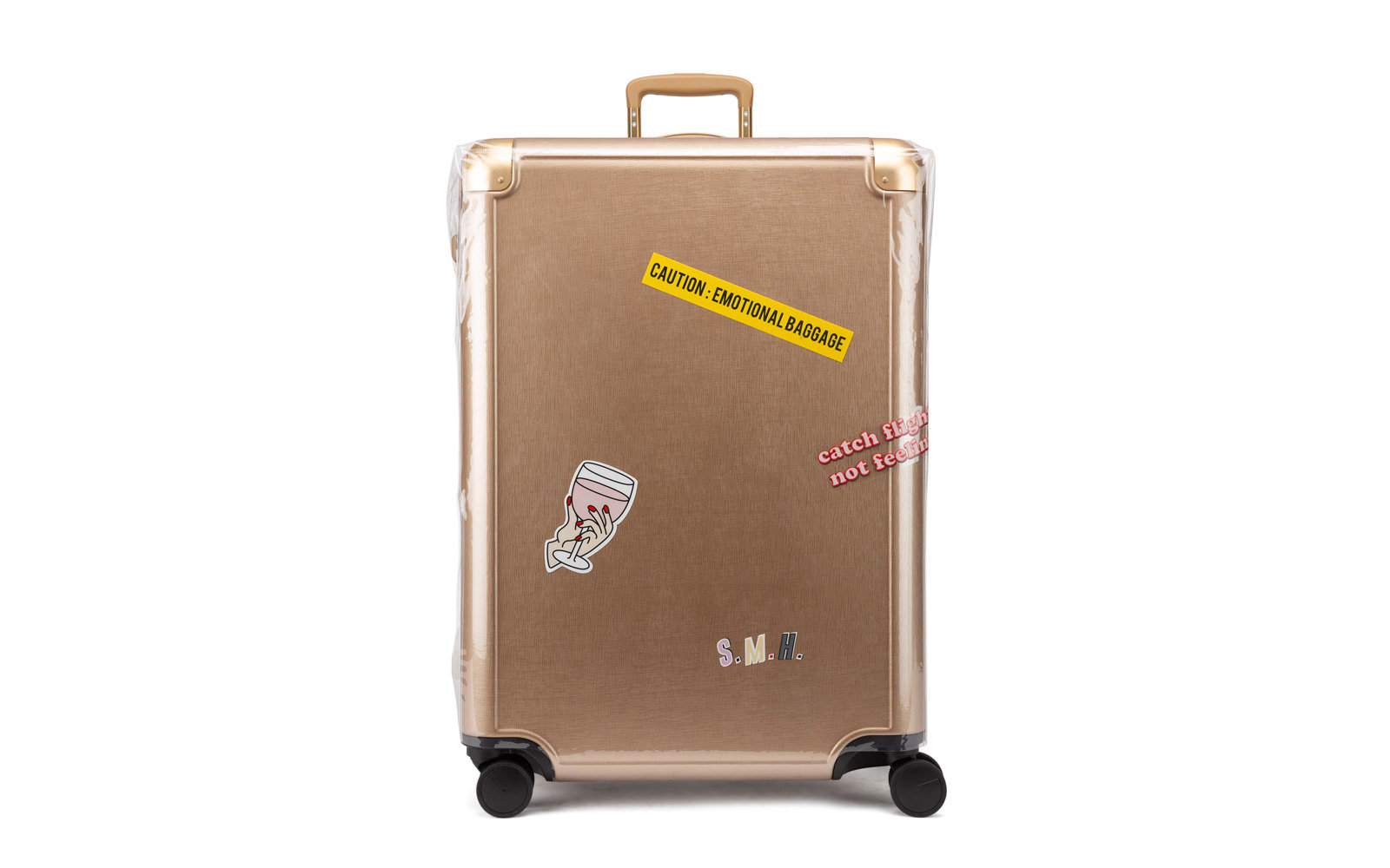 jen atkin calpak gold large luggage