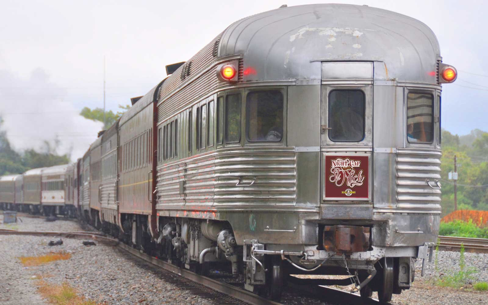 Enjoy holiday-themed drinks on a train trip with the Tennessee Valley Railroad Museum.
