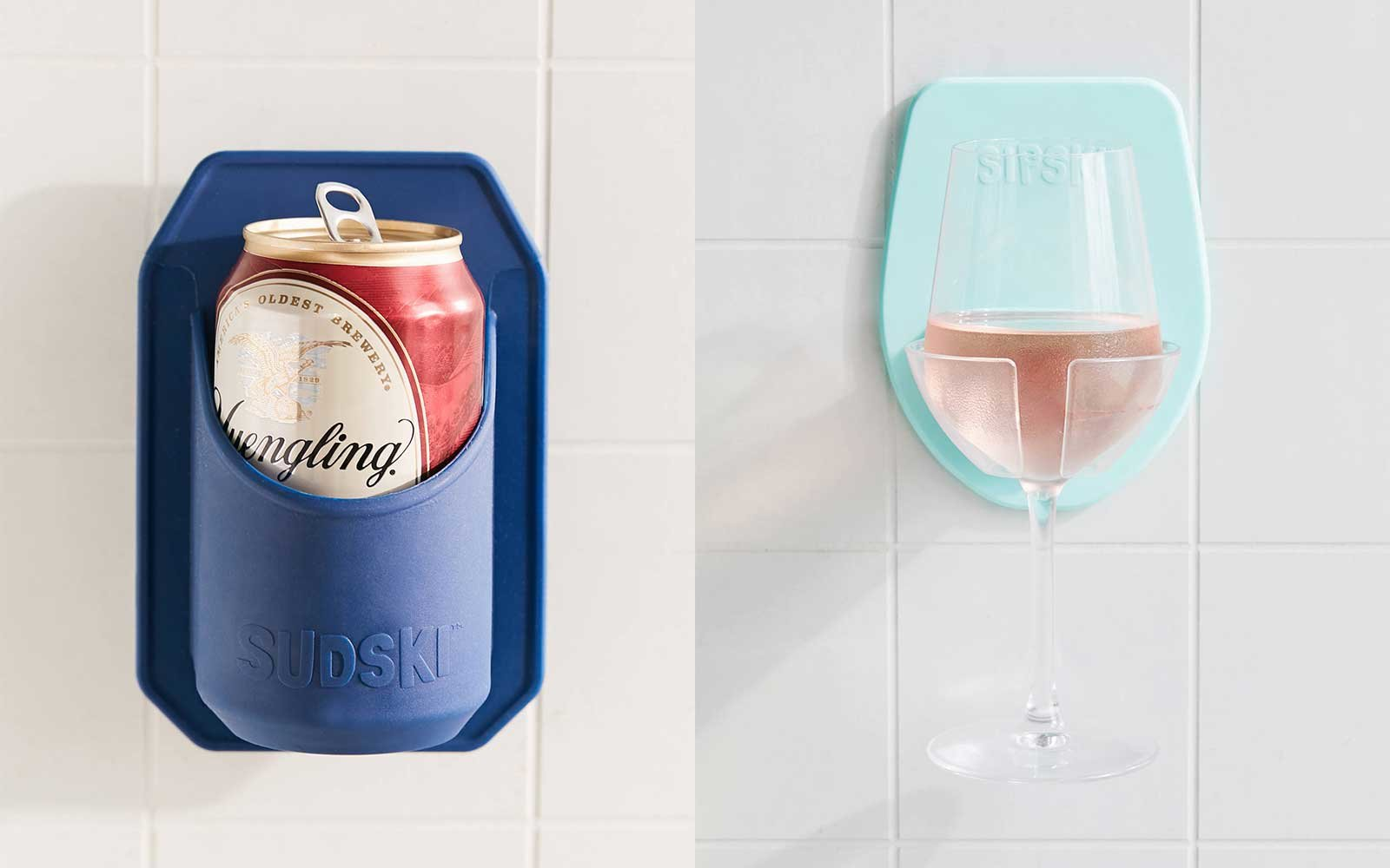 Shower holders for your drinks