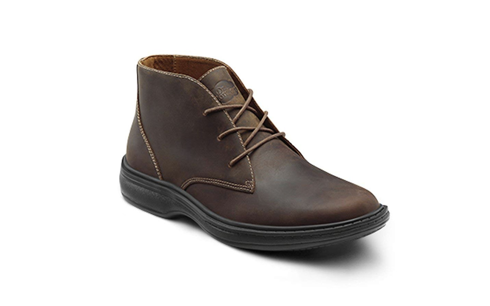 Dr. Comfort Ruk Men's Leather Lace-up Boot