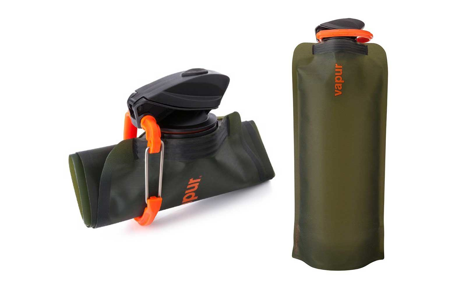 Vapor foldable water bottle