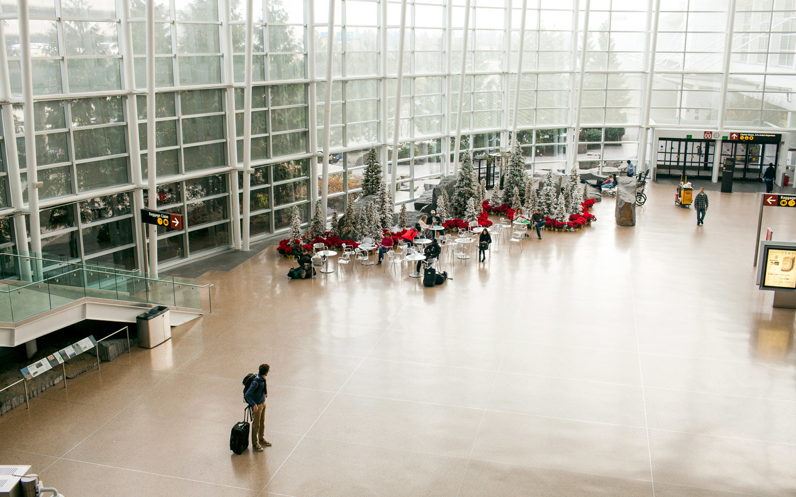 Seattle Airport Will Soon Allow People to Pick Up Their Friends and Family at the Gate