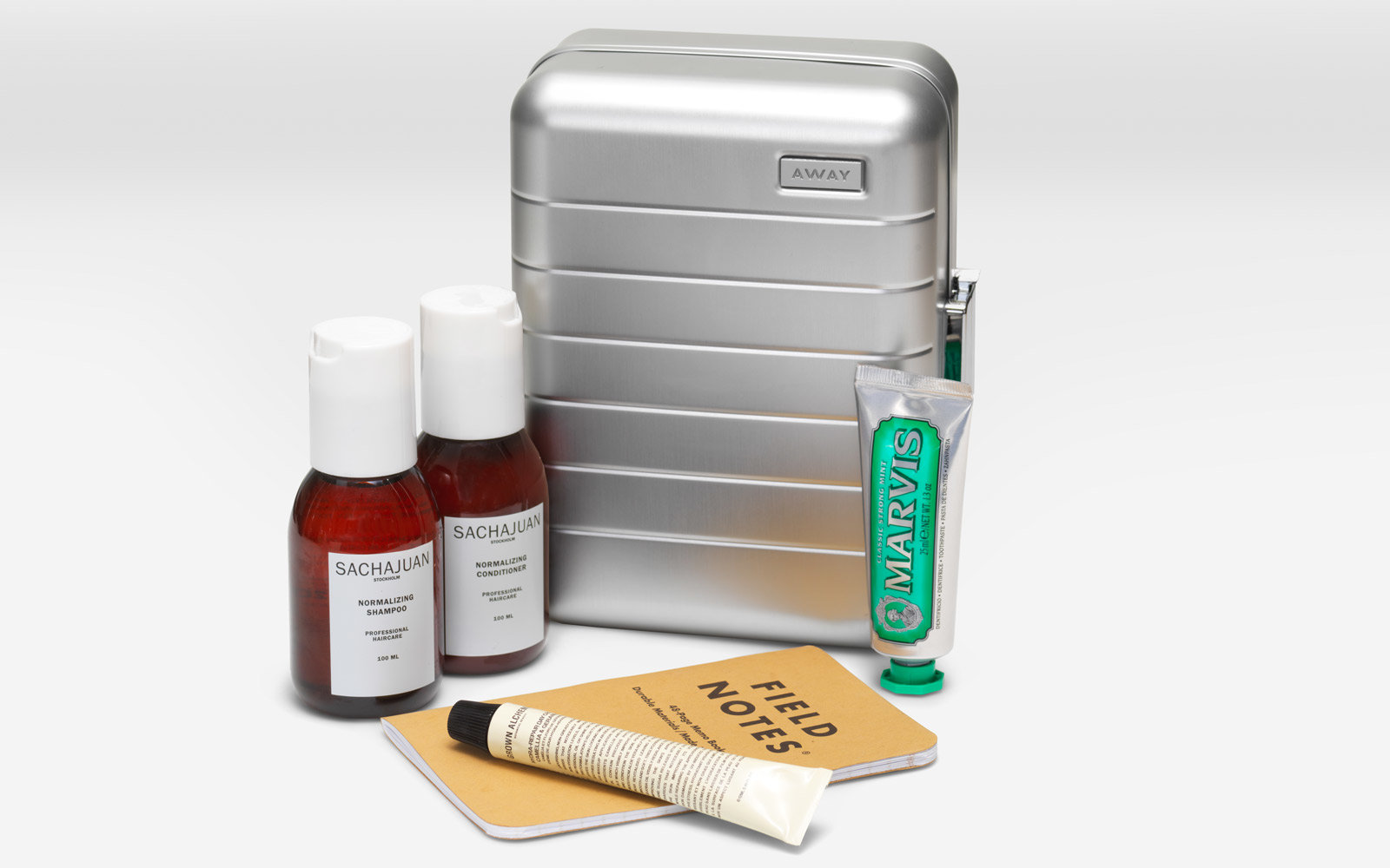away aluminum gift set