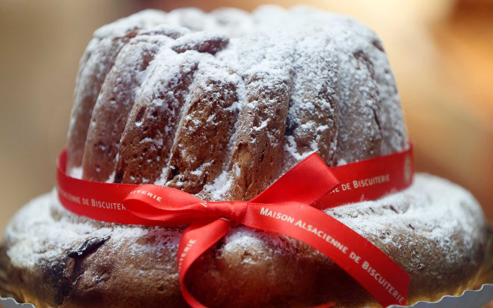 This brioche-like circular treat often comes served with confectioner's sugar.