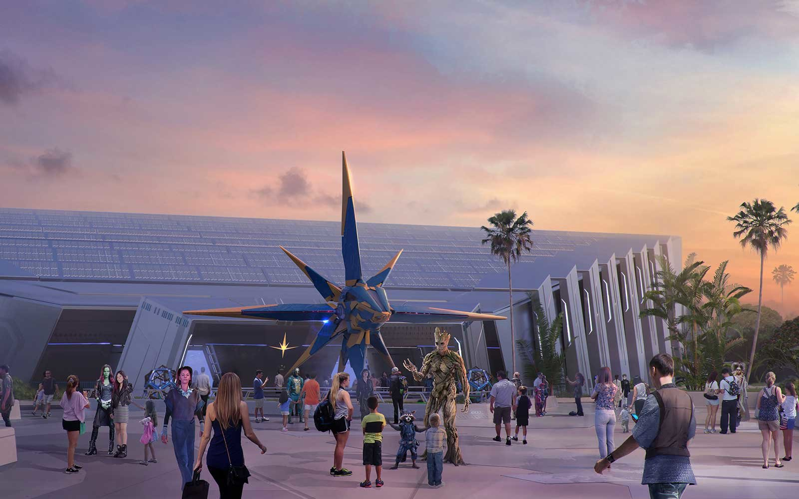 Disney Is Re-imagining the Roller Coaster With Epcot's New Guardians of the Galaxy Experience