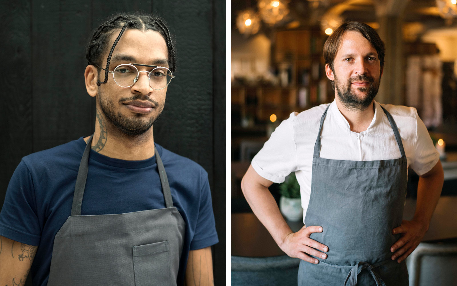 David Zilber and Rene Redzepi