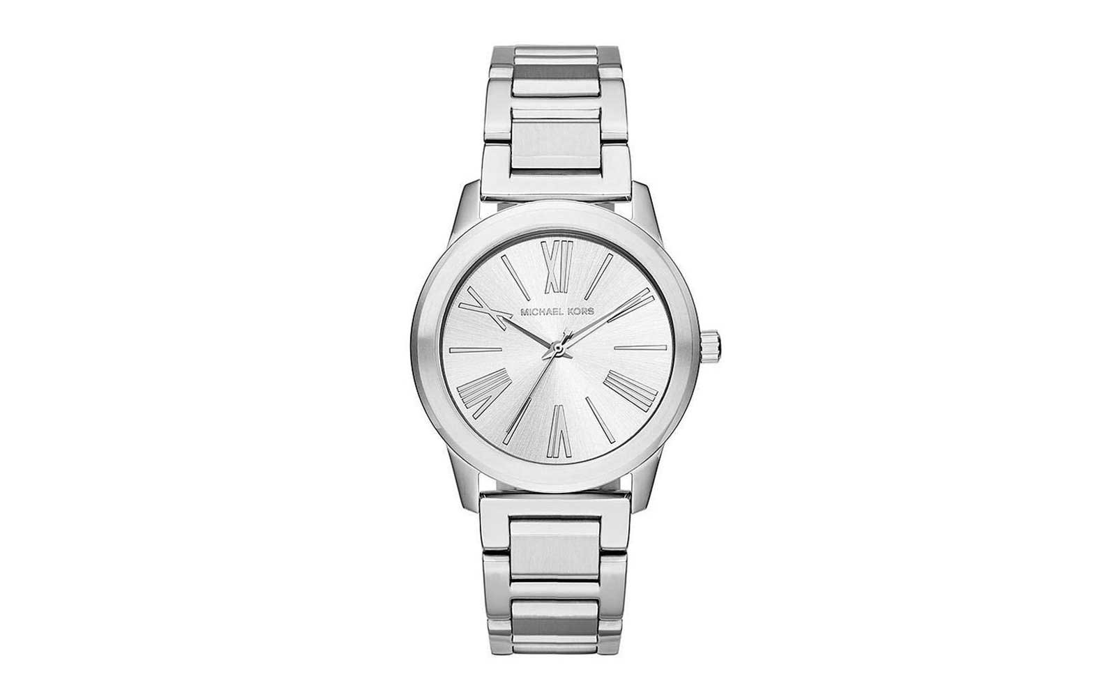 Gifts to get on Amazon Michael Kors Women's Hartman Stainless Watch