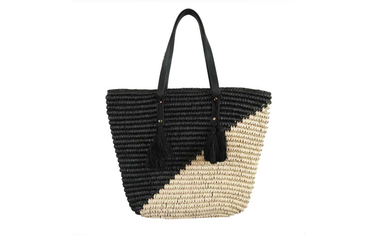 Gifts to get on Amazon Beach'd Straw Beach Tote Shoulder Bag
