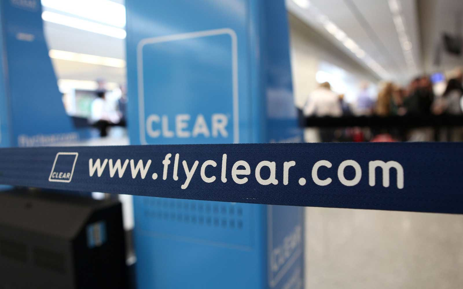 Clear is available across 40 locations in the U.S. to help travelers speed through airports and sports arenas.