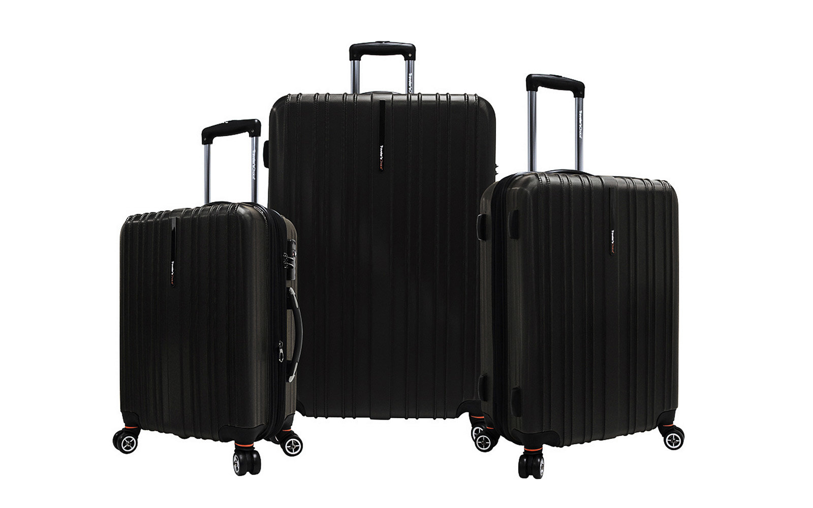 travelers choice luggage set cheap