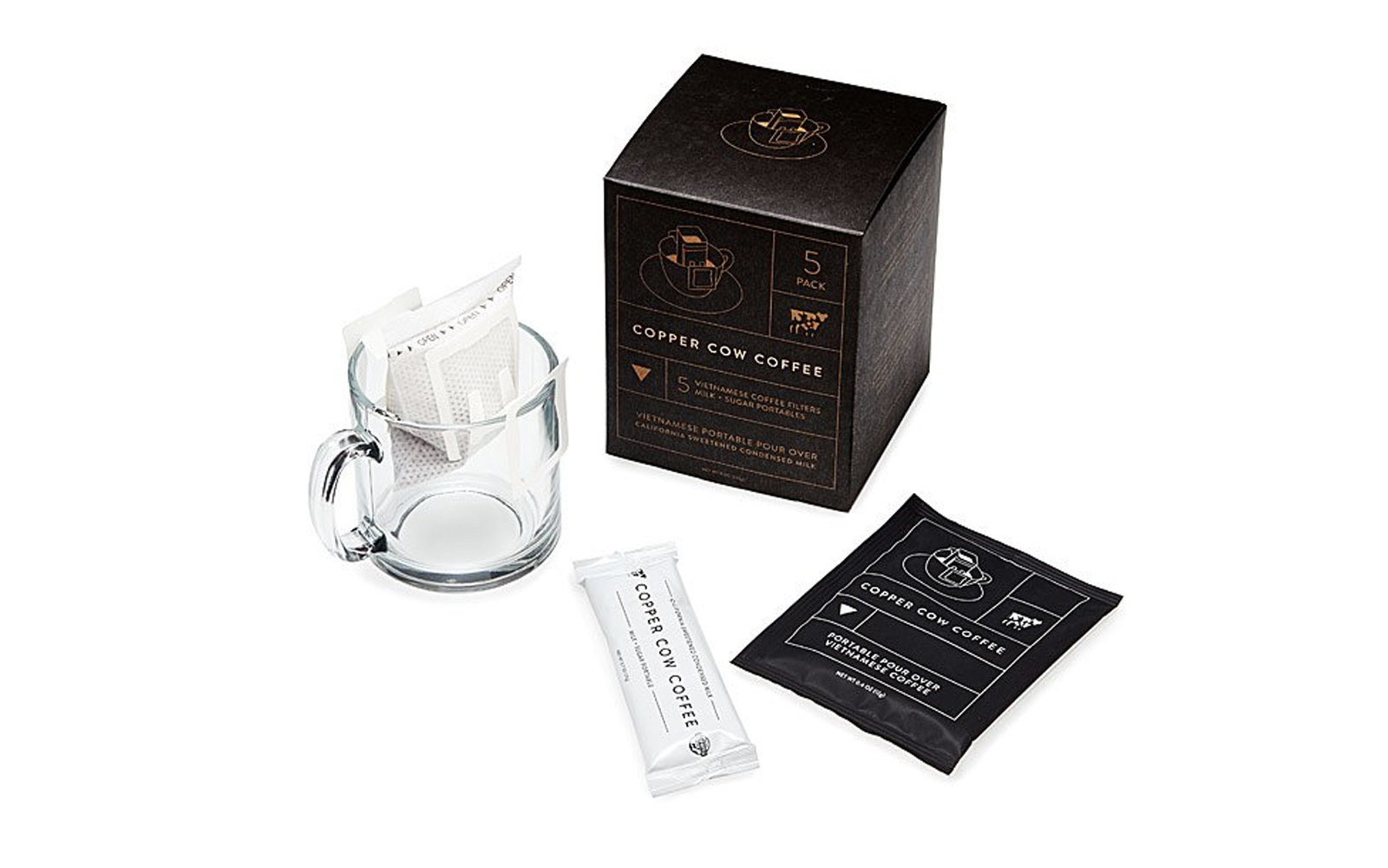 Uncommon Goods Vietnamese Coffee Portable Pour Overs