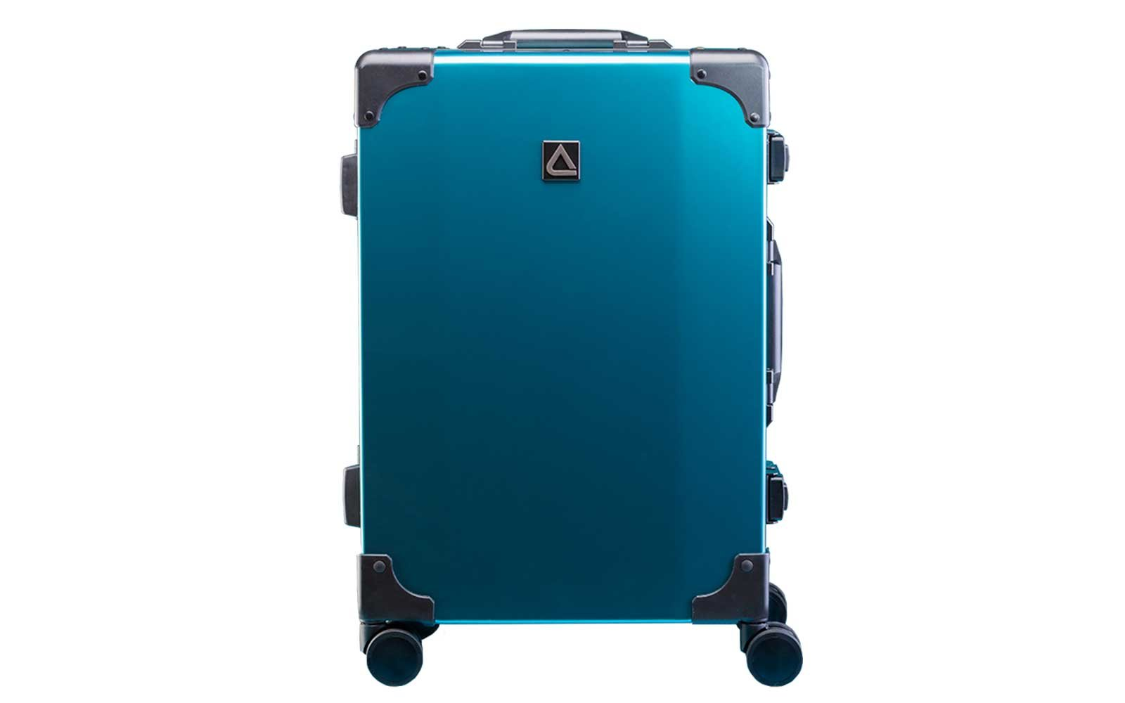 Andiamo teal spinner suitcase