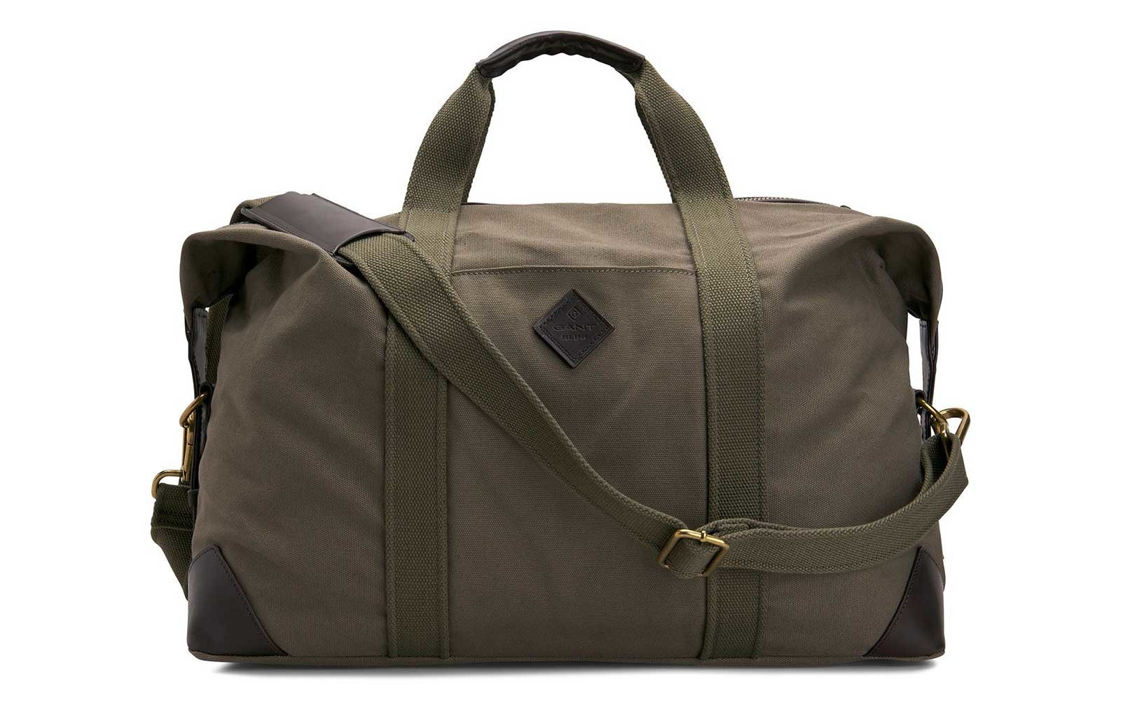 Canvas weekender bag by Gant