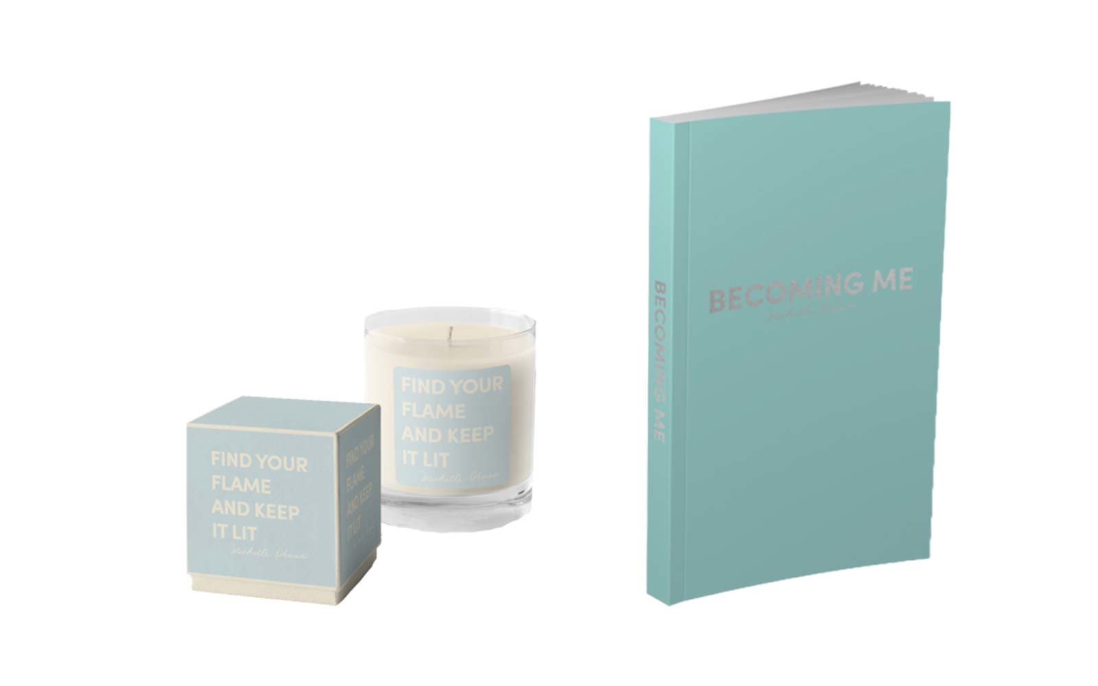 Becoming  Candle and Journal