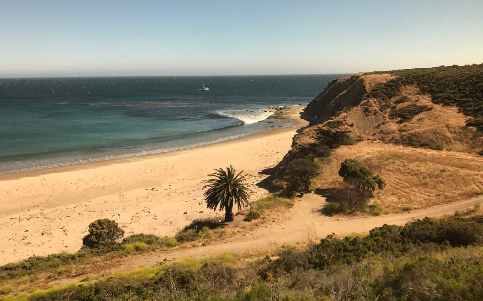 Pacific Coast Highway by Amtrak Train