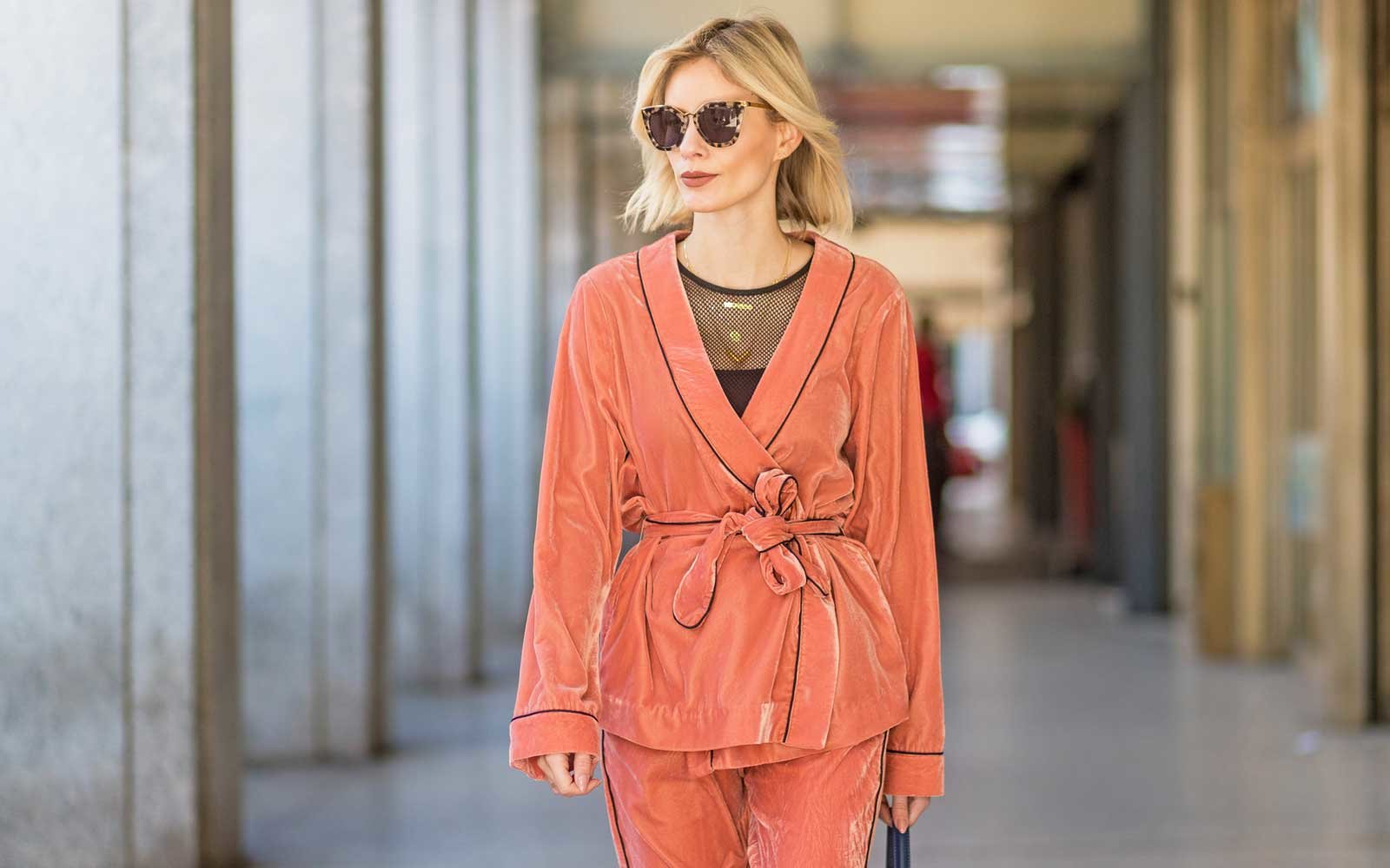 Chic PJs that make the case for never getting dressed forecast