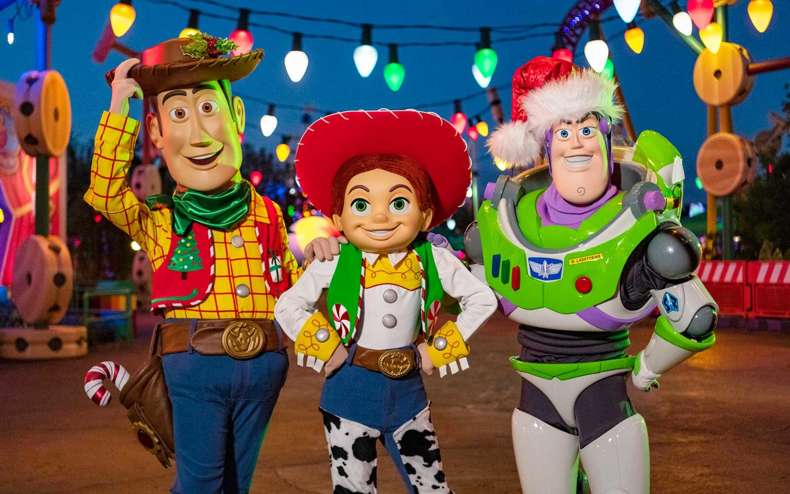 Toy Story Land During The Holiday Season Is Disney Magic